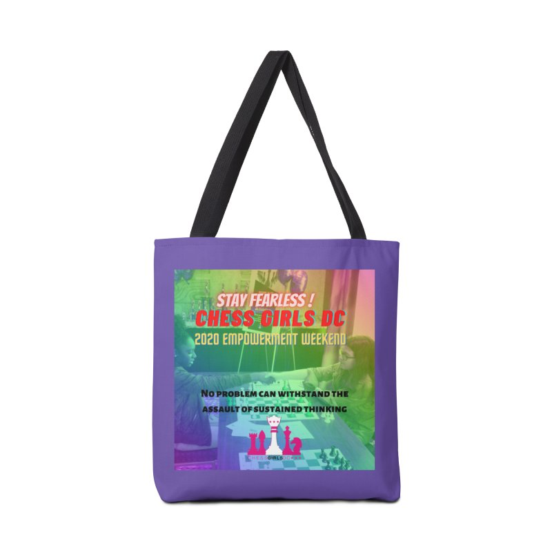 Chess Girls Empowerment Tournament Accessories Bag by Chess Girls DC's Spirit Shop