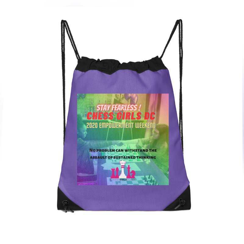 Chess Girls Empowerment Tournament Accessories Bag by Chess Girls DC's Spirit Shop