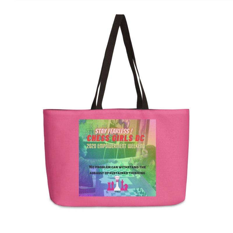 2020 Girls Chess tournament Accessories Bag by Chess Girls DC's Spirit Shop