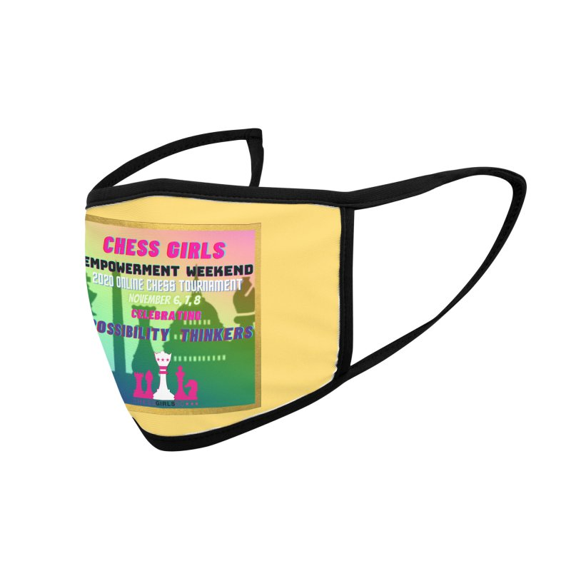 Celebrating All Girls Chess Accessories Face Mask by Chess Girls DC's Spirit Shop