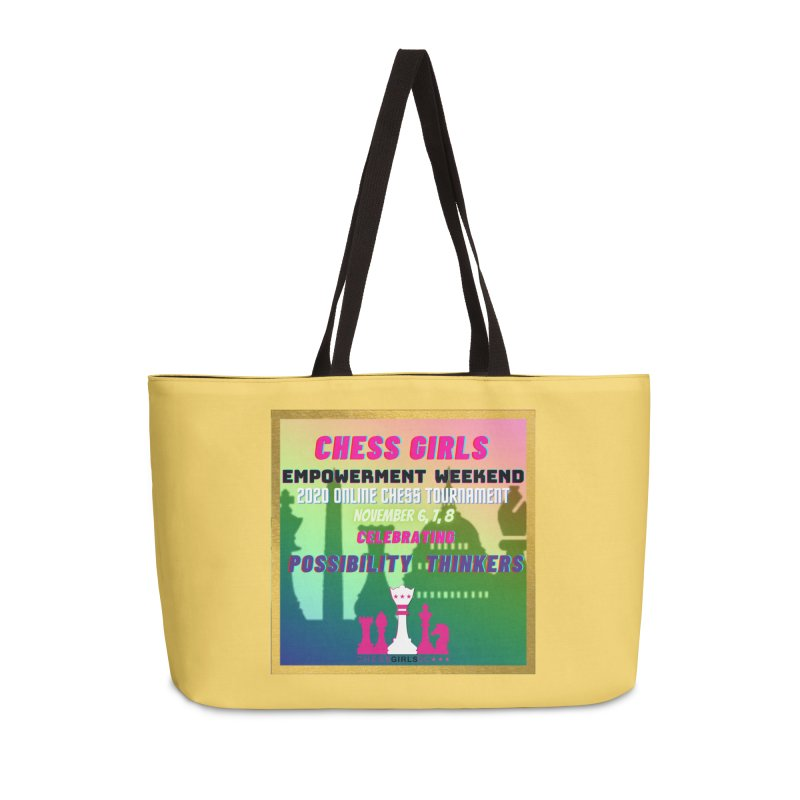 Celebrating All Girls Chess Accessories Bag by Chess Girls DC's Spirit Shop