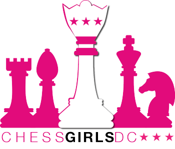 Chess Girls DC's Spirit Shop Logo