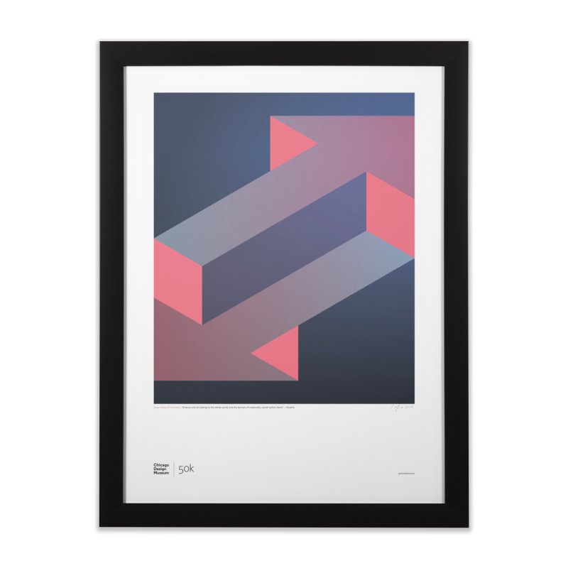 50k + Goethe Home Framed Fine Art Print by Chicago Design Museum