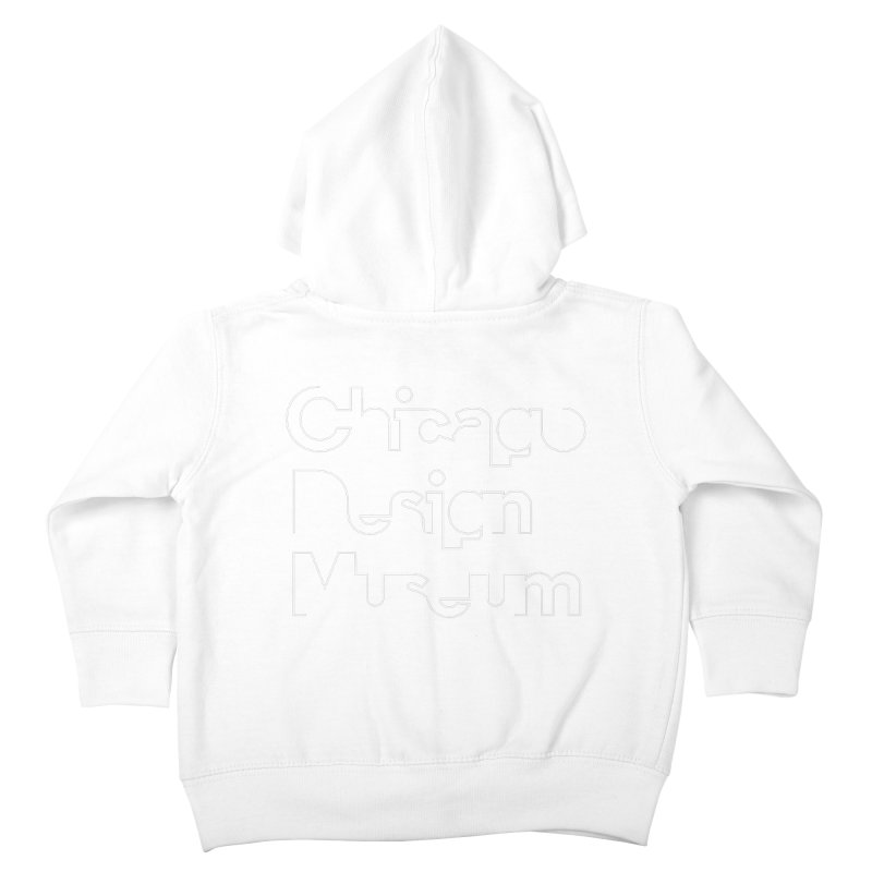 Stream Line Kids Toddler Zip-Up Hoody by Chicago Design Museum