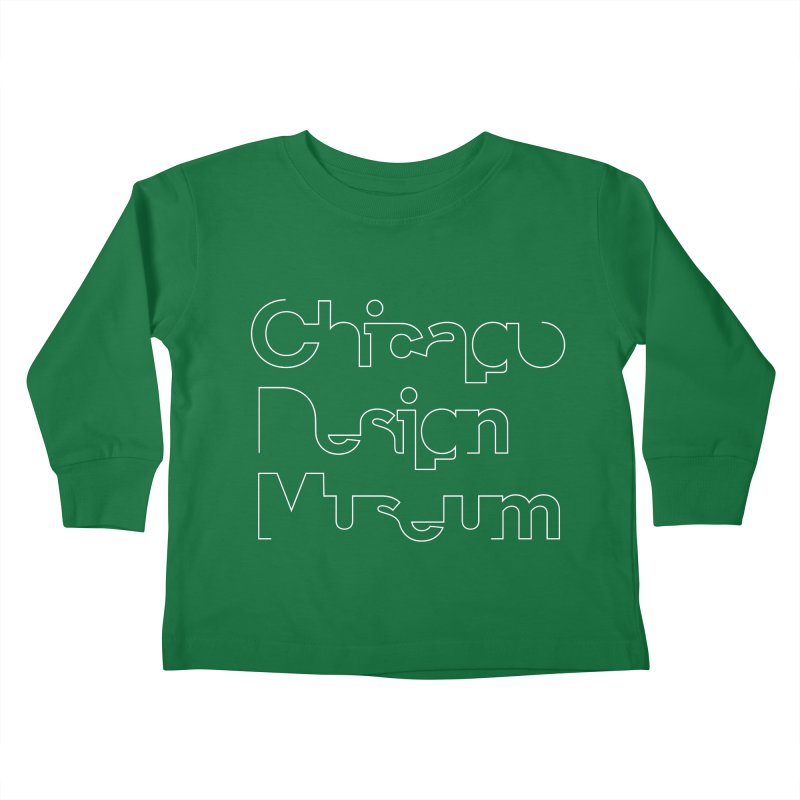 Stream Line Kids Toddler Longsleeve T-Shirt by Chicago Design Museum
