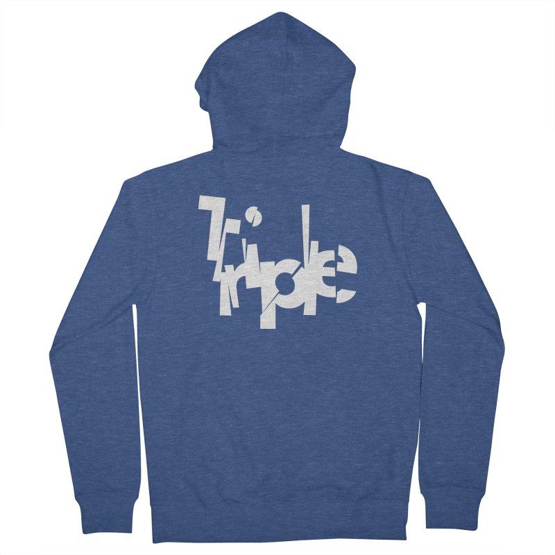 Belgian Triple by Matthew Terdich Men's Zip-Up Hoody by Chicago Design Museum