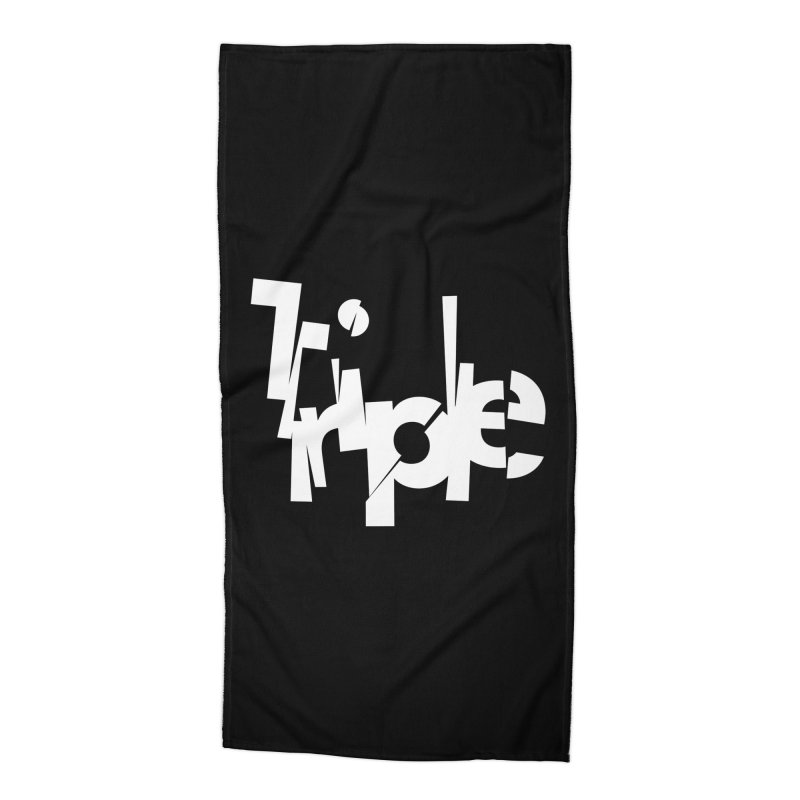Belgian Triple by Matthew Terdich Accessories Beach Towel by Chicago Design Museum