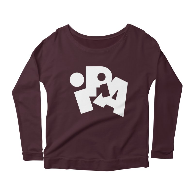Imperial IPA by Matthew Terdich Women's Longsleeve Scoopneck  by Chicago Design Museum