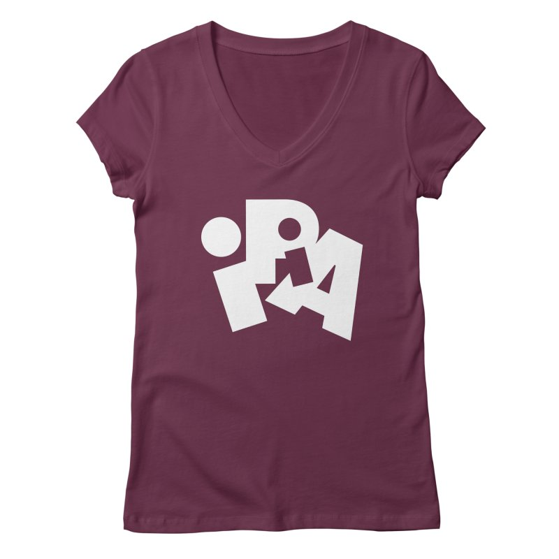 Imperial IPA by Matthew Terdich Women's V-Neck by Chicago Design Museum