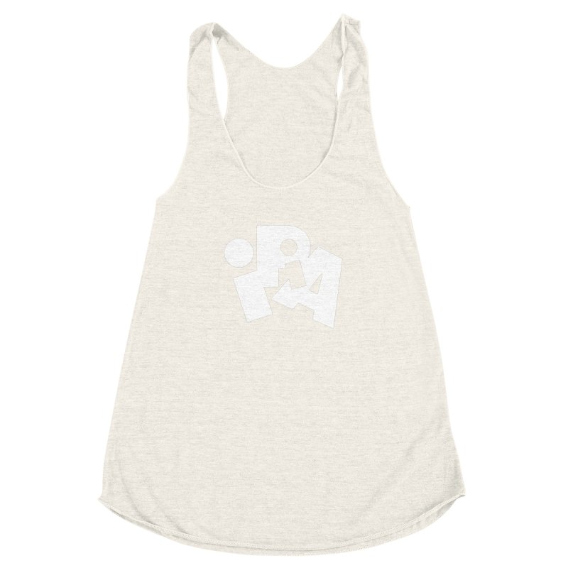 Imperial IPA by Matthew Terdich Women's Racerback Triblend Tank by Chicago Design Museum