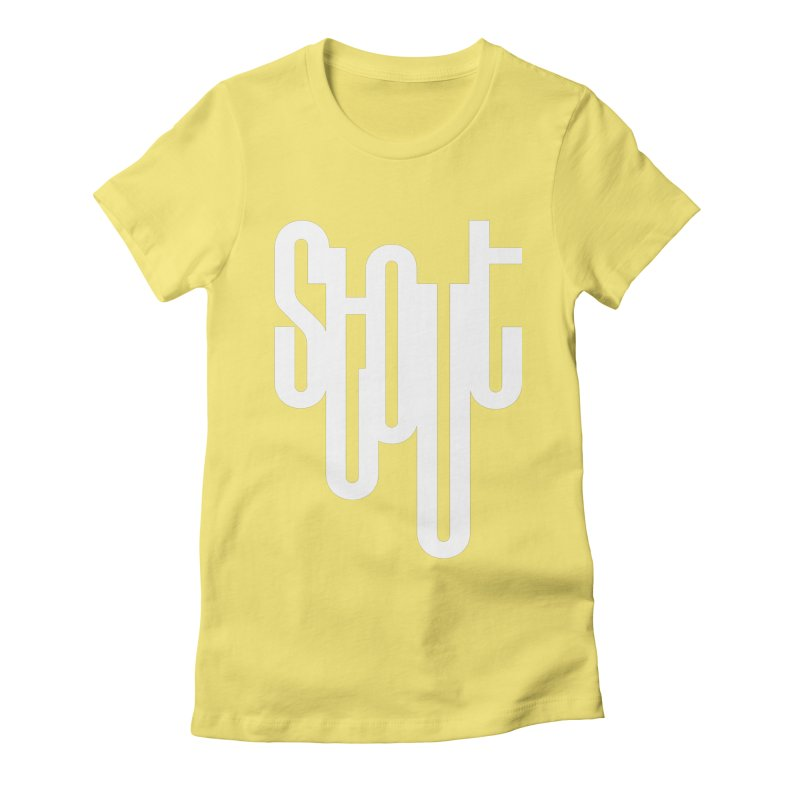 Stout by Matthew Terdich Women's Fitted T-Shirt by Chicago Design Museum