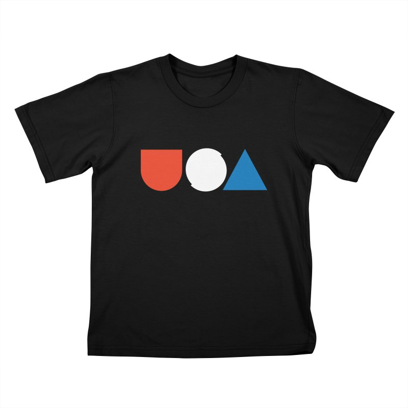 USA by Tanner Woodford Kids T-shirt by Chicago Design Museum