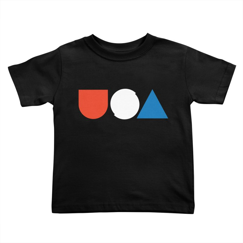 USA by Tanner Woodford Kids Toddler T-Shirt by Chicago Design Museum