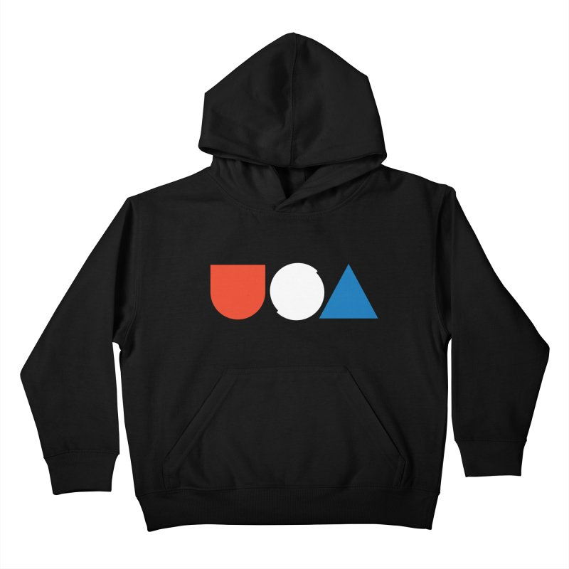 USA by Tanner Woodford Kids Pullover Hoody by Chicago Design Museum
