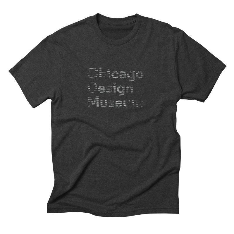 Member Exclusive Men's Triblend T-Shirt by Chicago Design Museum