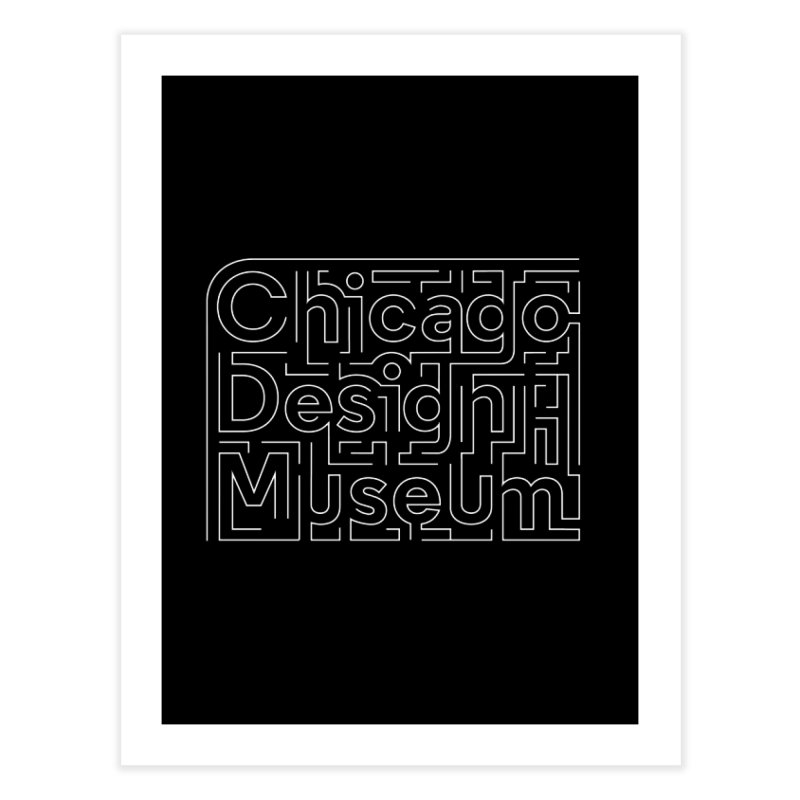 Chicago Design Museum by Ye Won Kim Home Fine Art Print by Chicago Design Museum