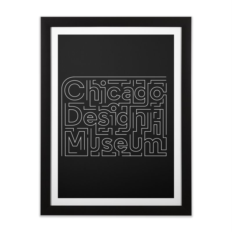 Chicago Design Museum by Ye Won Kim Home Framed Fine Art Print by Chicago Design Museum