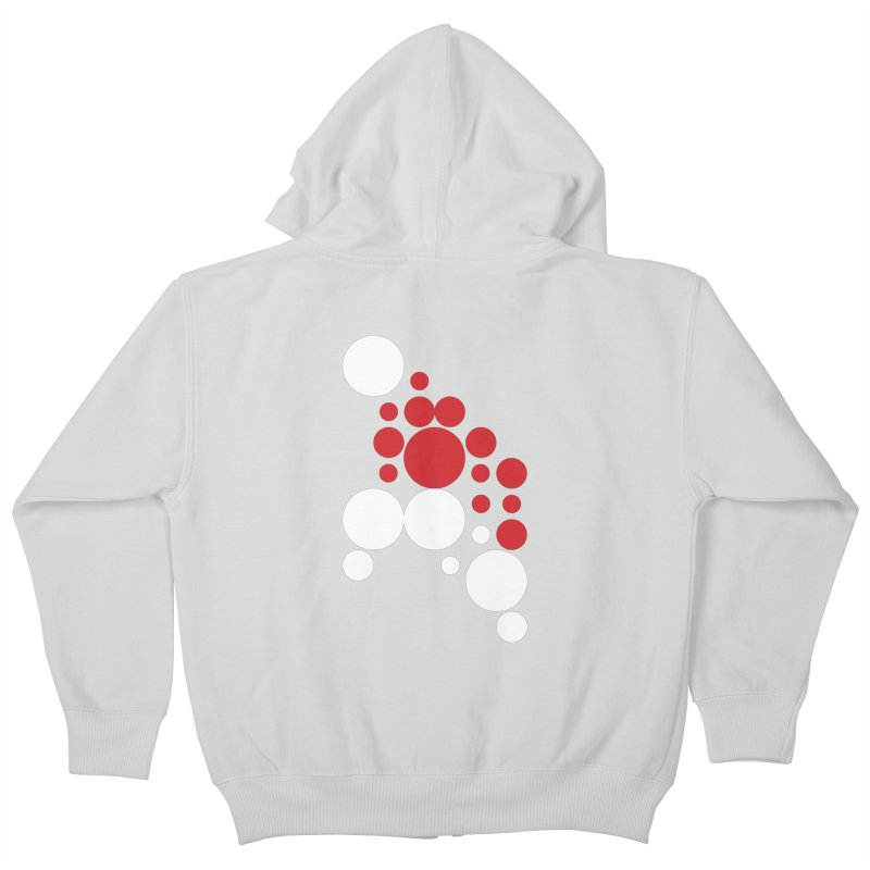 Ho Ho Ho Kids Zip-Up Hoody by Chicago Design Museum