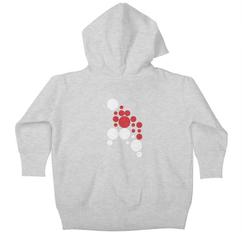 Ho Ho Ho Kids Baby Zip-Up Hoody by Chicago Design Museum