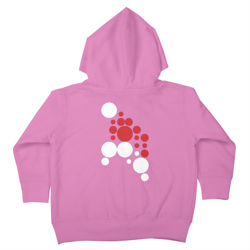 Ho Ho Ho Kids Toddler Zip-Up Hoody by Chicago Design Museum