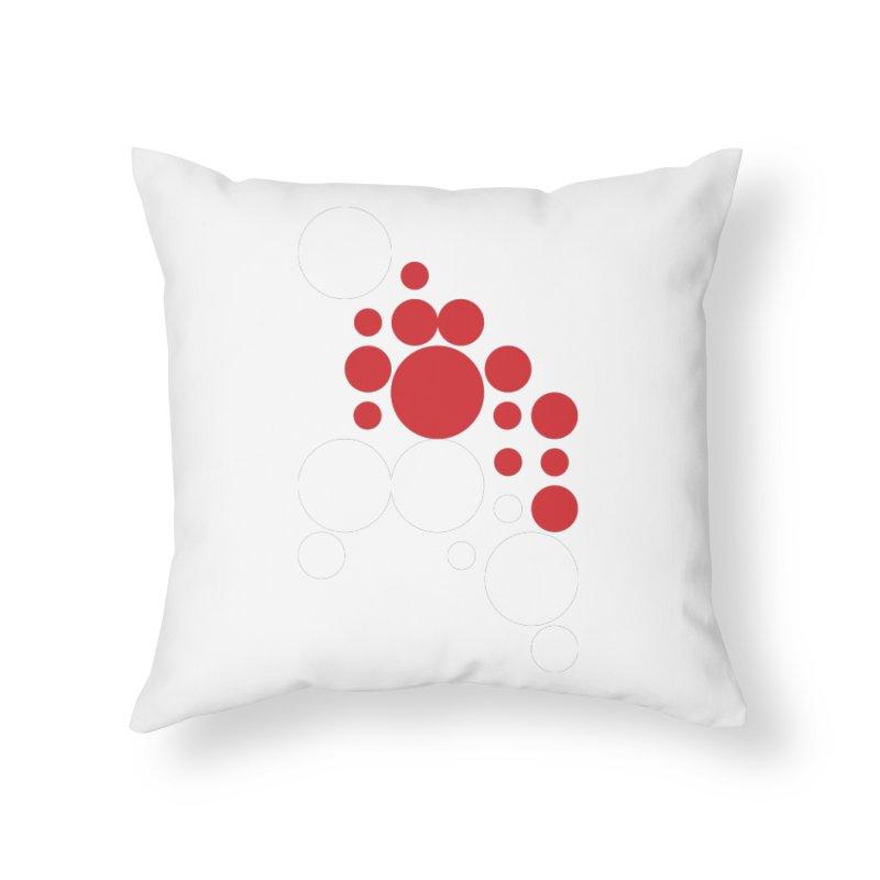 Ho Ho Ho Home Throw Pillow by Chicago Design Museum