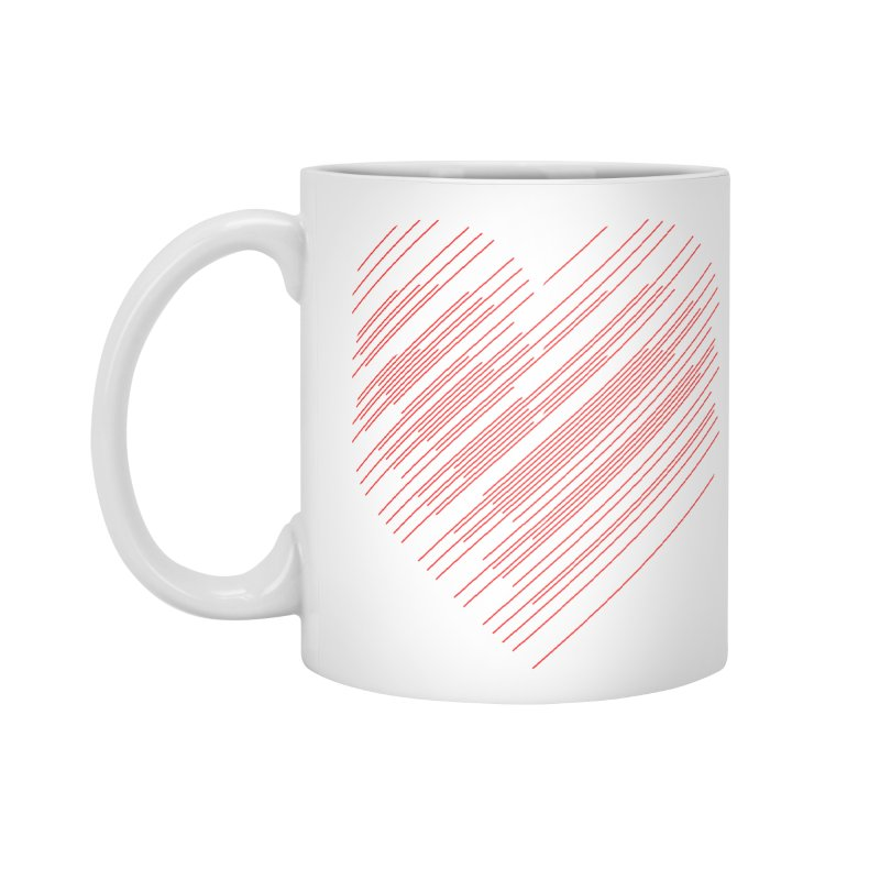 Heart Strings Accessories Mug by Chicago Design Museum