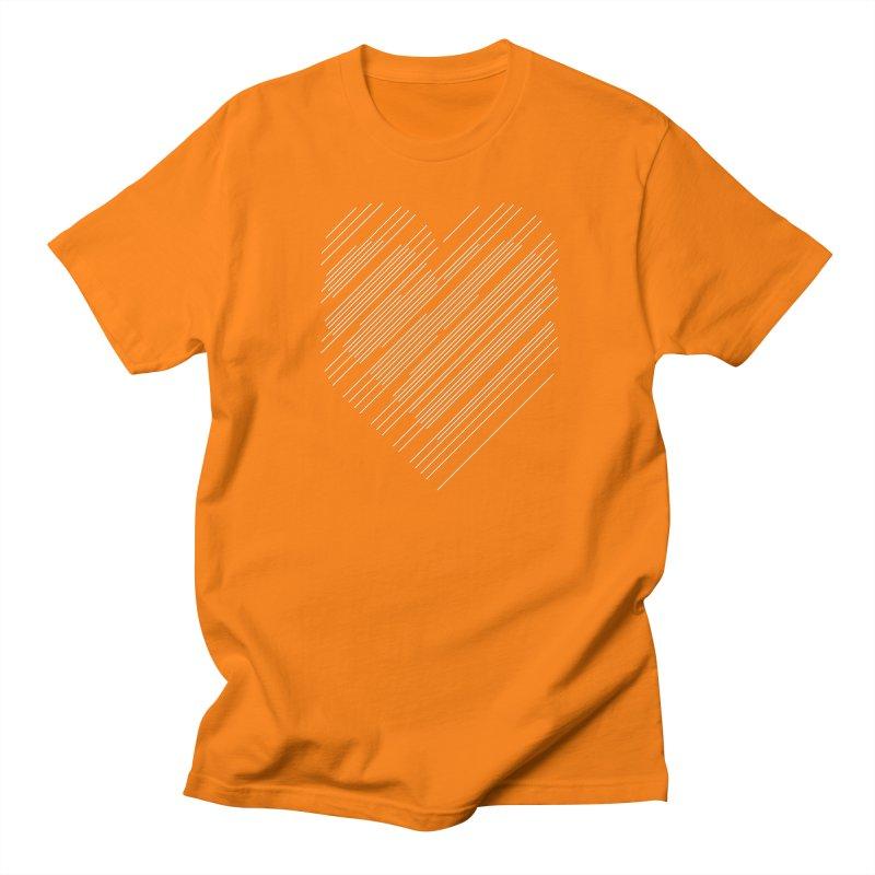 Heart Strings Women's Unisex T-Shirt by Chicago Design Museum