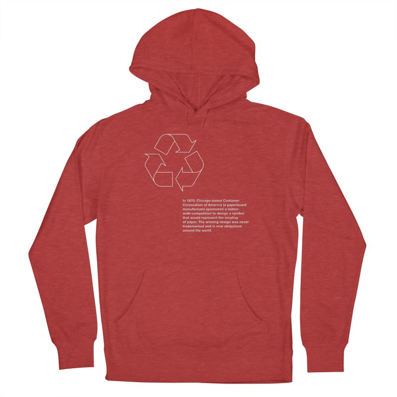 Earth Day Valentine Women's Pullover Hoody by Chicago Design Museum