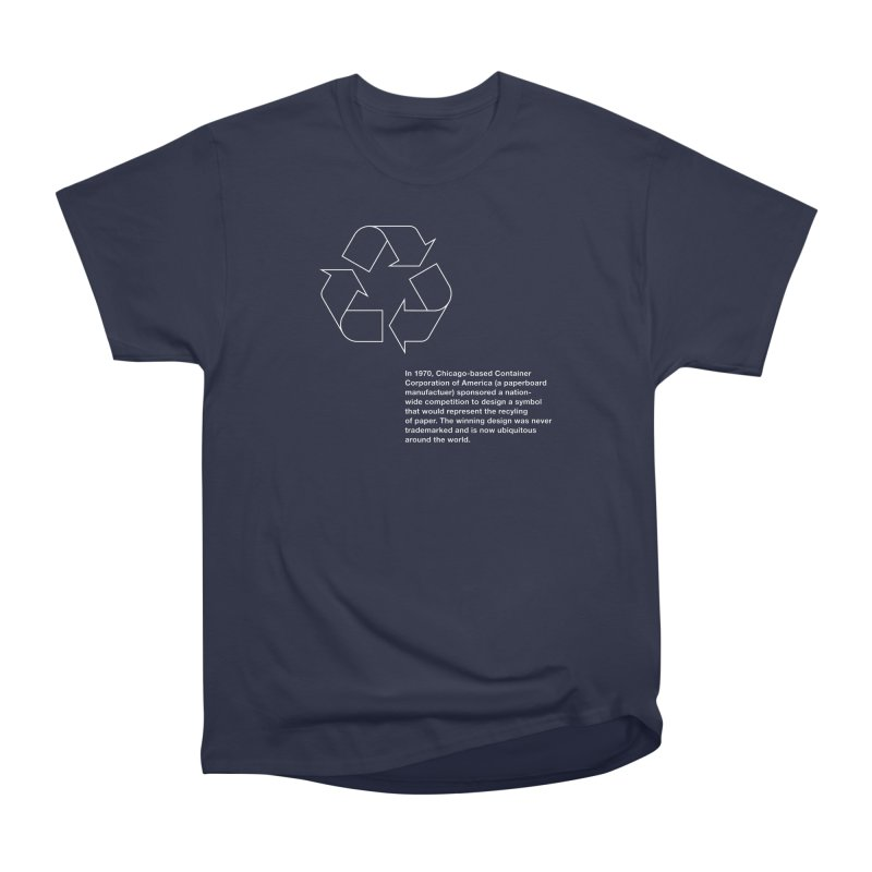 Earth Day Valentine Women's Classic Unisex T-Shirt by Chicago Design Museum