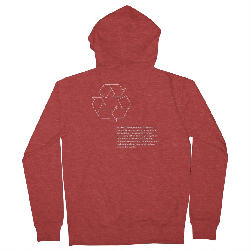 Earth Day Valentine Women's Zip-Up Hoody by Chicago Design Museum