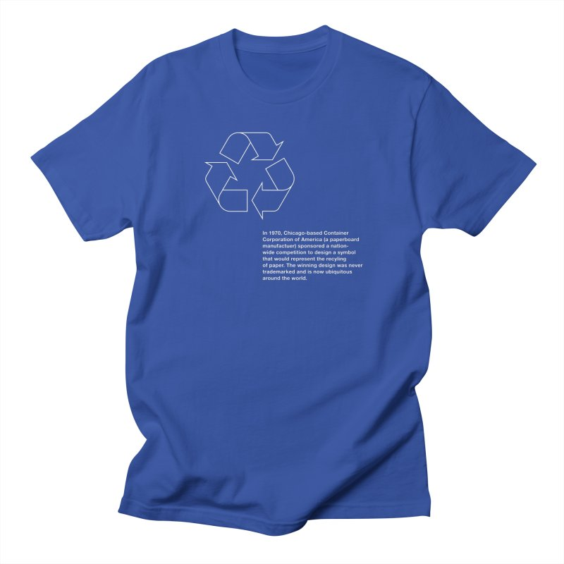 Earth Day Valentine Men's T-Shirt by Chicago Design Museum