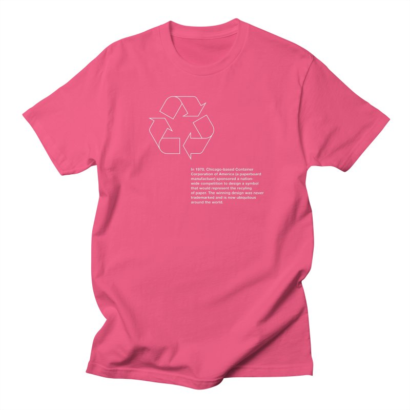 Earth Day Valentine Women's Unisex T-Shirt by Chicago Design Museum