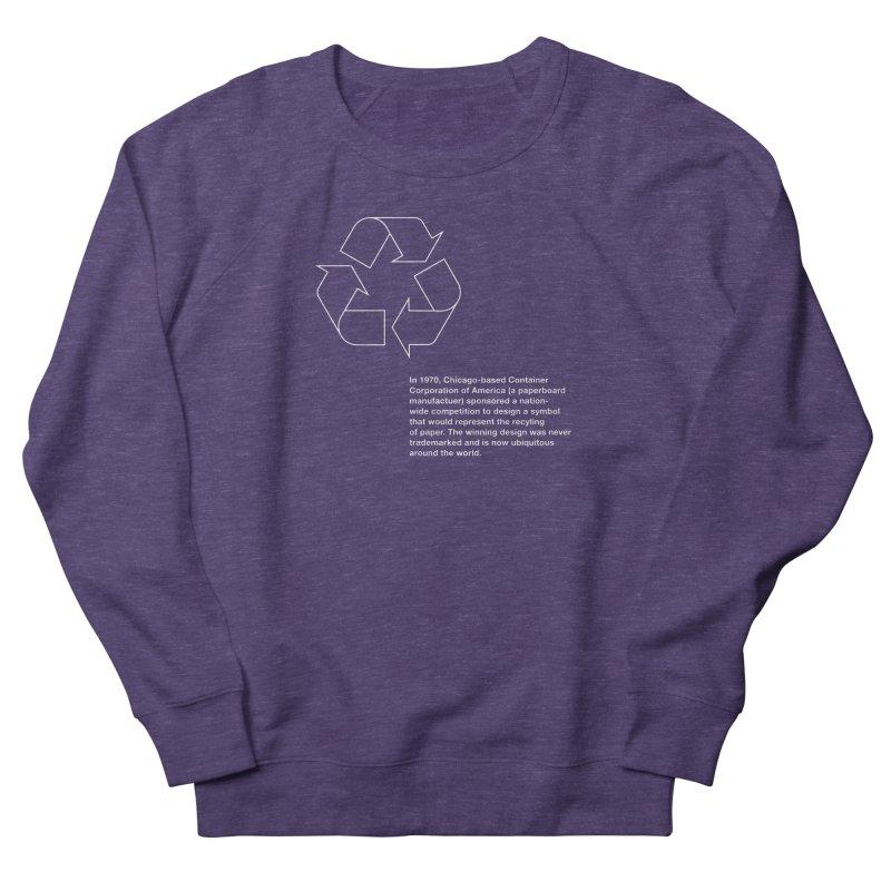 Earth Day Valentine Women's Sweatshirt by Chicago Design Museum