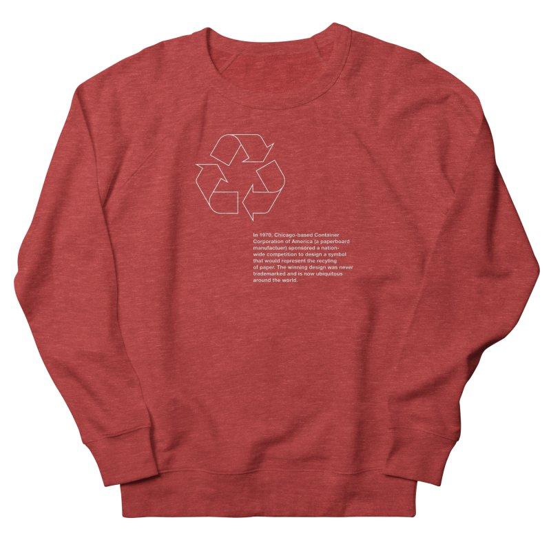 Earth Day Valentine Men's Sweatshirt by Chicago Design Museum