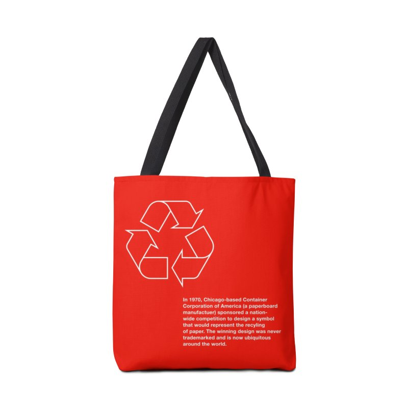 Earth Day Valentine Accessories Bag by Chicago Design Museum