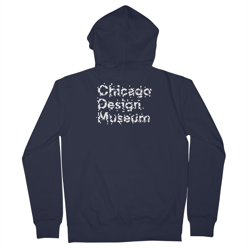 Pixel Play Women's Zip-Up Hoody by Chicago Design Museum