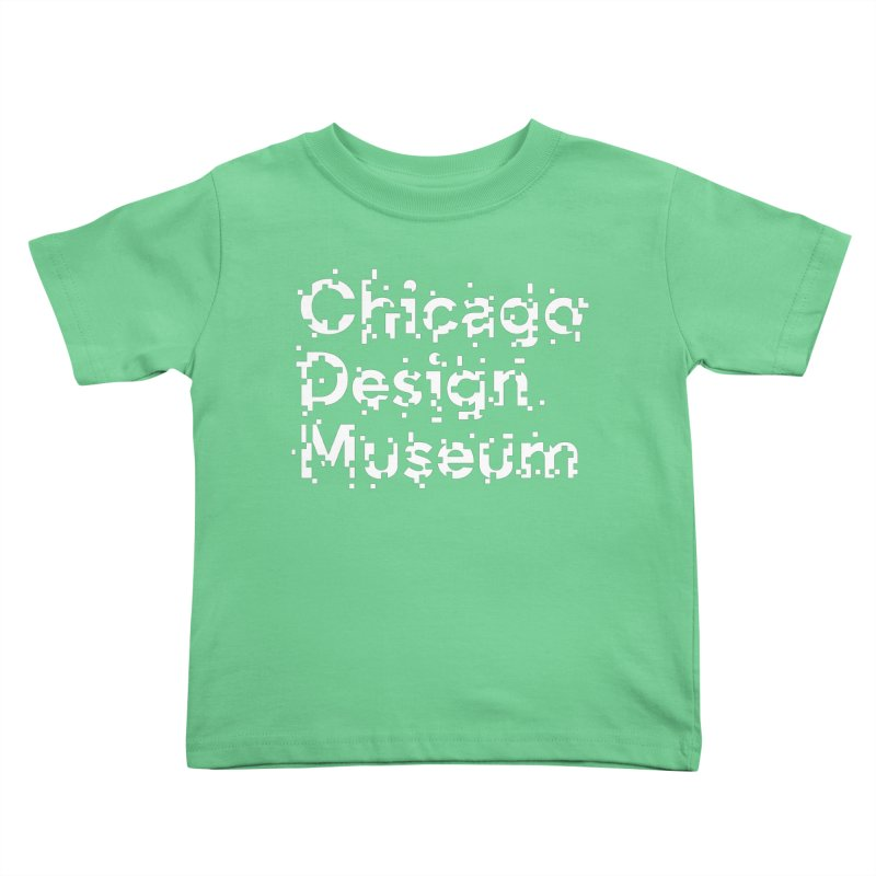 Pixel Play Kids Toddler T-Shirt by Chicago Design Museum