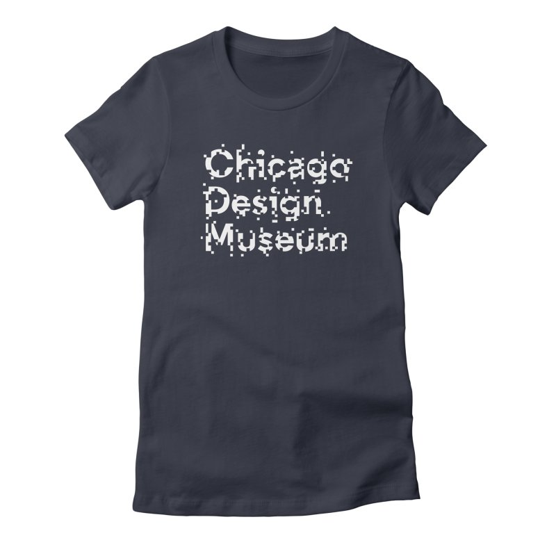 Pixel Play Women's Fitted T-Shirt by Chicago Design Museum