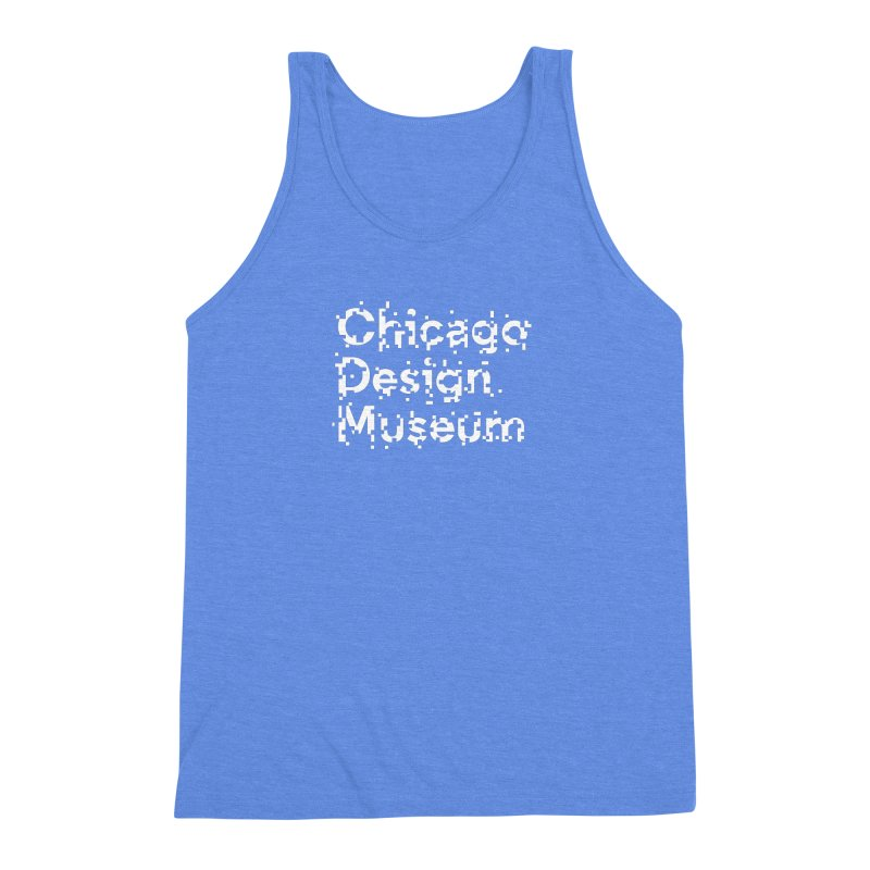 Pixel Play Men's Triblend Tank by Chicago Design Museum