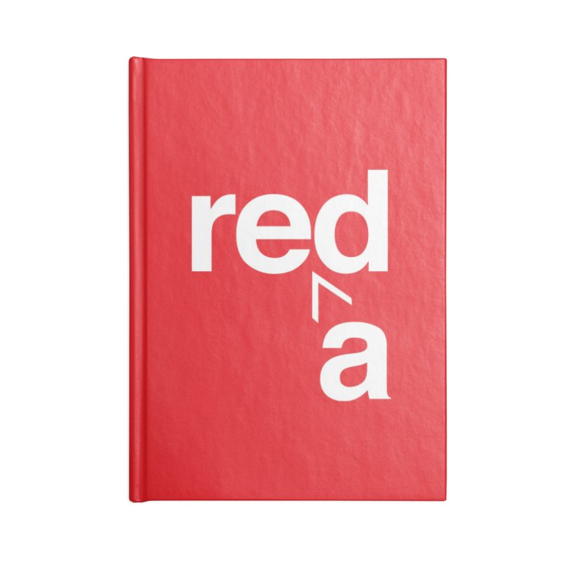 Read Red by John Massey Accessories Blank Journal Notebook by Design Museum of Chicago