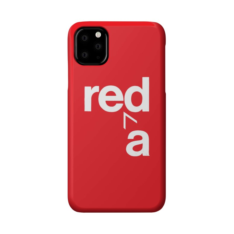 Read Red by John Massey Accessories Phone Case by Design Museum of Chicago