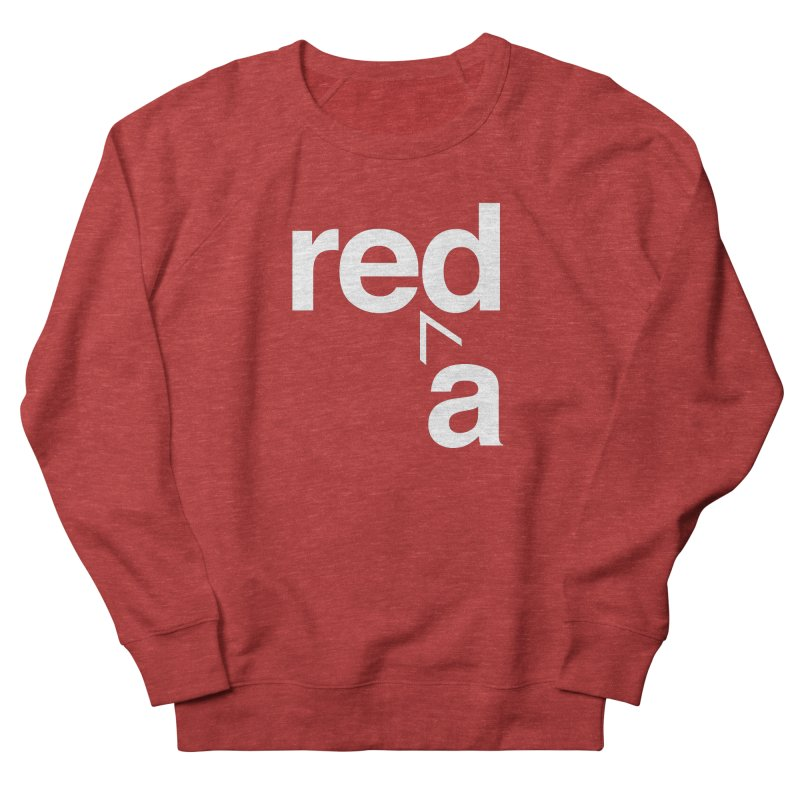 Read Red by John Massey Men's French Terry Sweatshirt by Design Museum of Chicago