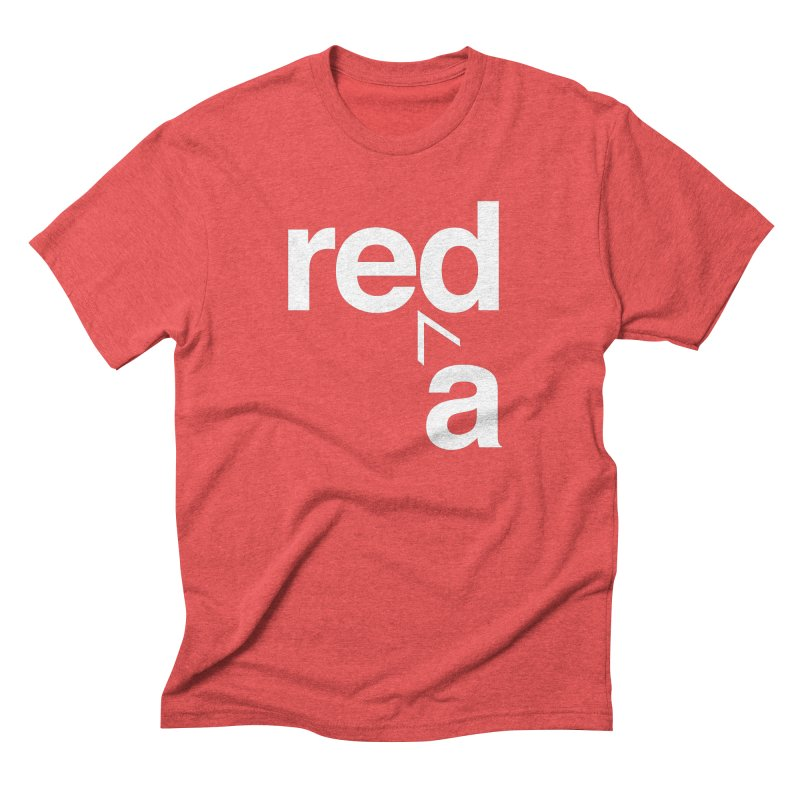 Read Red by John Massey Men's Triblend T-Shirt by Design Museum of Chicago