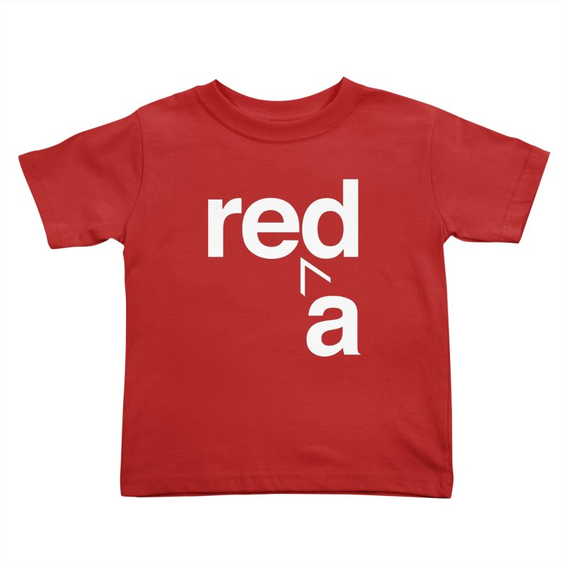 Read Red by John Massey Kids Toddler T-Shirt by Chicago Design Museum