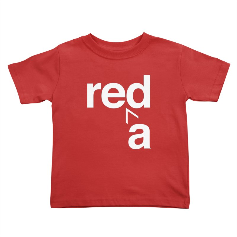 Read Red by John Massey Kids Toddler T-Shirt by Design Museum of Chicago