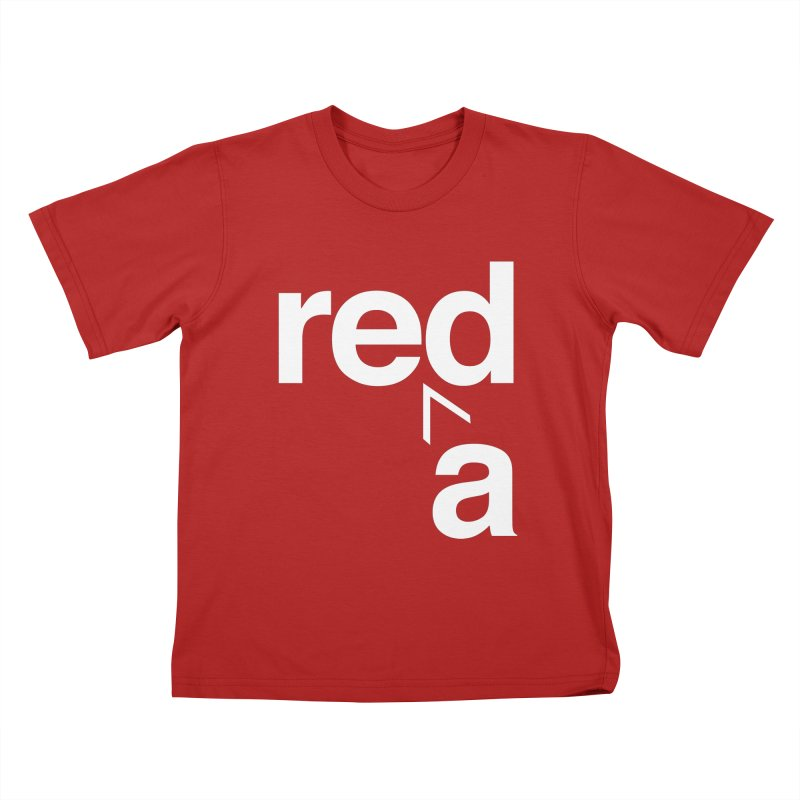 Read Red by John Massey Kids T-shirt by Chicago Design Museum