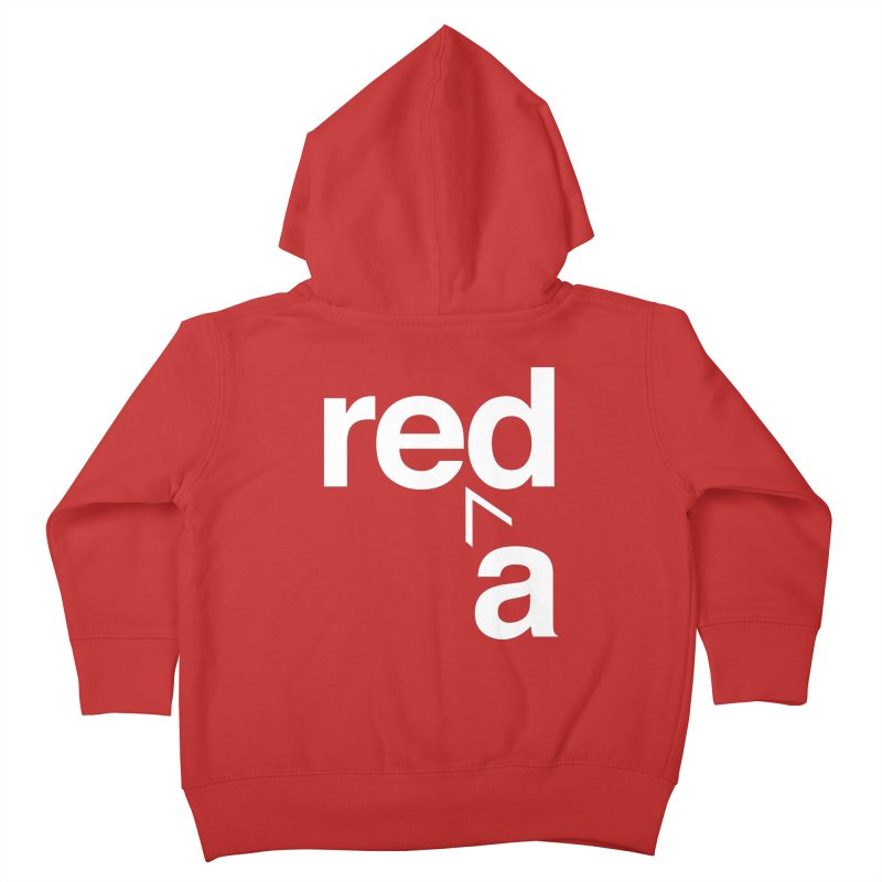Read Red by John Massey Kids Toddler Zip-Up Hoody by Chicago Design Museum