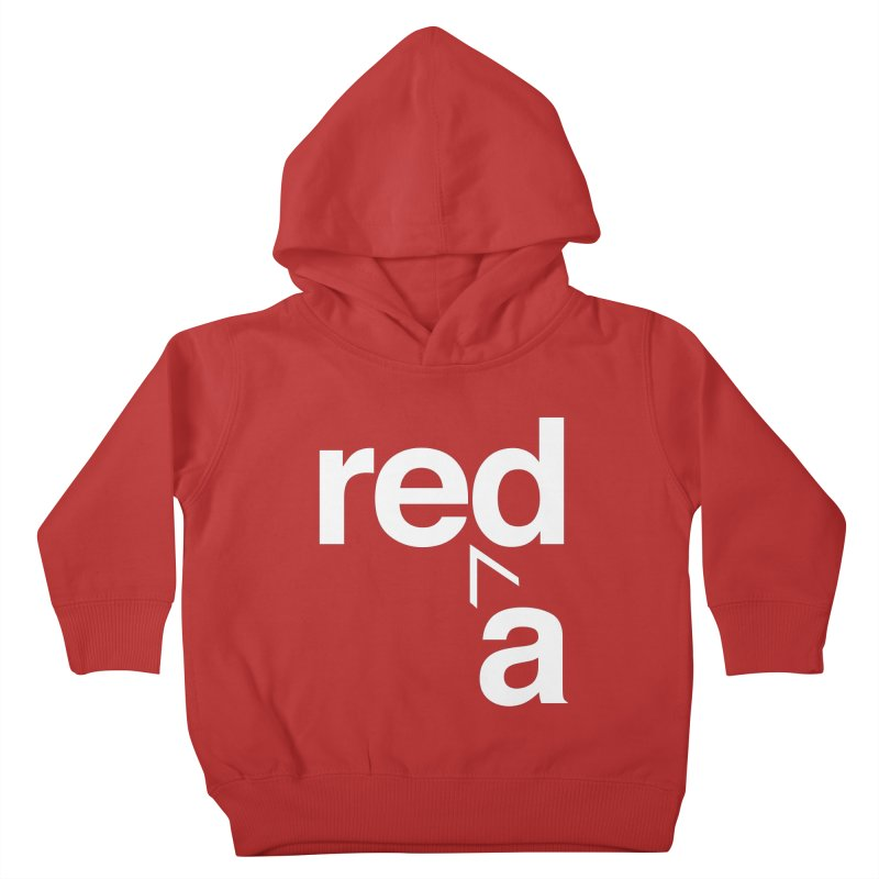 Read Red by John Massey Kids Toddler Pullover Hoody by Design Museum of Chicago