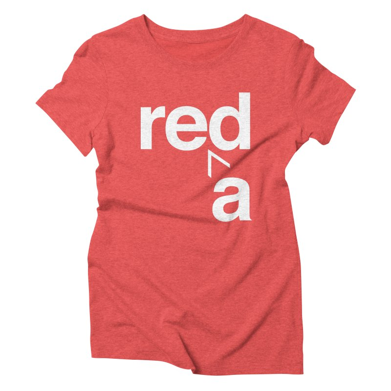 Read Red by John Massey Women's Triblend T-Shirt by Design Museum of Chicago