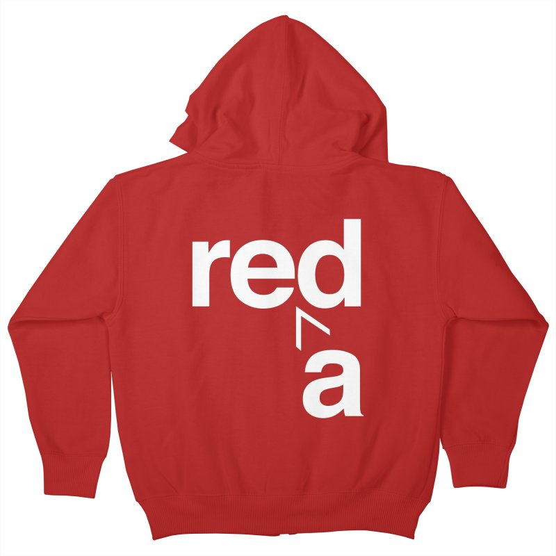 Read Red by John Massey Kids Zip-Up Hoody by Chicago Design Museum